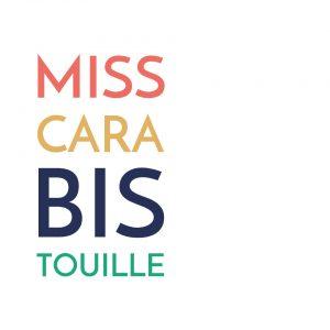 Miss carabistouille coussin 100% lin made in france fait main Paulin
