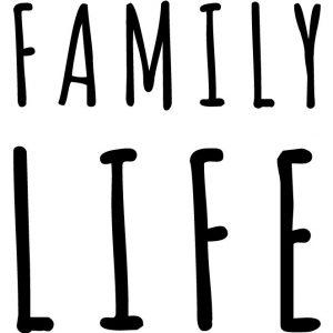 Coussin en lin naturel peints à la main Paulin Lyon Falaises Normandie Family Life