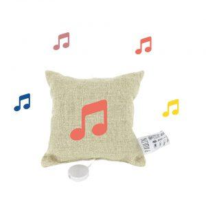 coussin musical espace création 100% lin fabrication française créateur