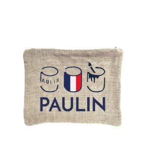 pochette espace création 100% lin fabrication française créateur