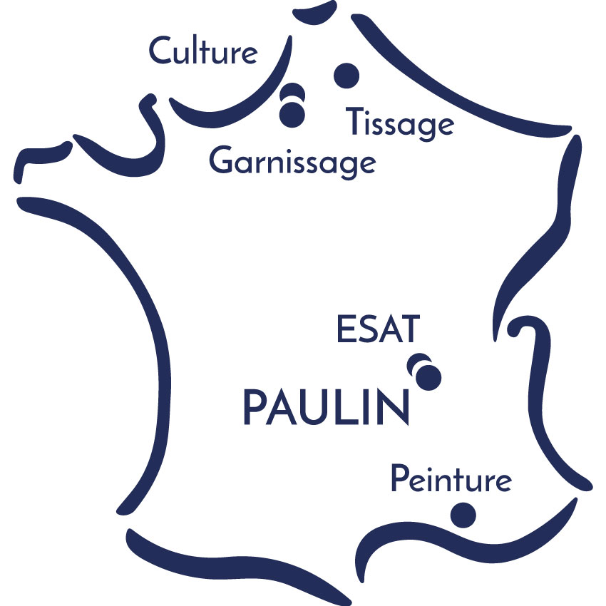 carte de france artisanat en circuit court atelier lyonnais Paulin Lyon